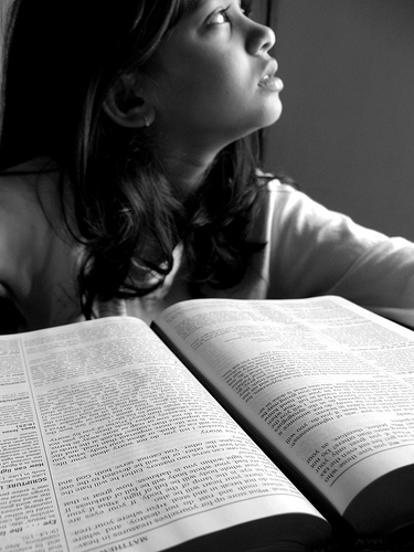 girl with Bible 2590819428_ccdd4820d8