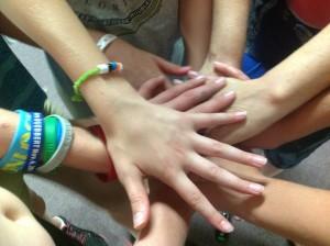 hands cherry