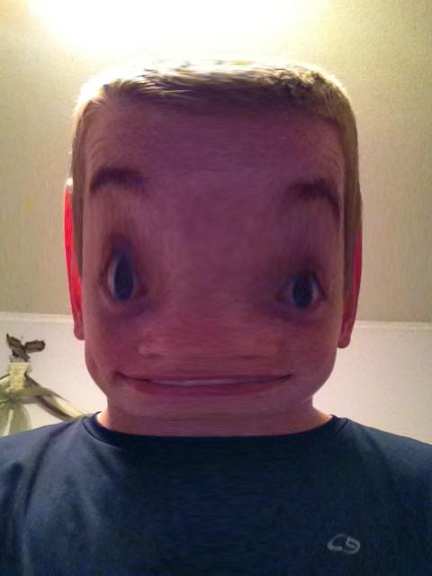 Matt square head