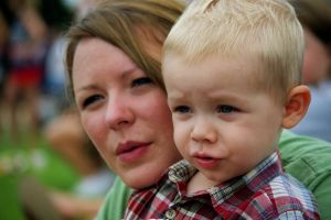 Mom and young son 825650_my_family