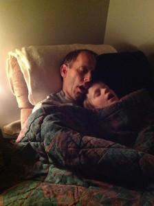Late night Dad time Doug Josiah