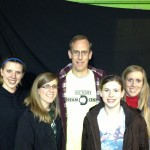 Doug and four daughters