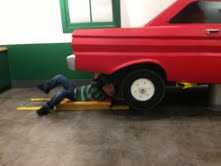 Ford museum josiah under car