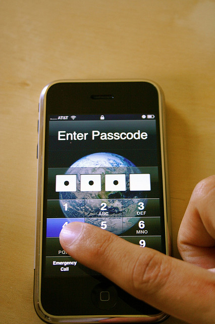 Password cell phone 699483014_ae8e750930_z