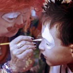 Clown face painting 6291693388_aa90862c51
