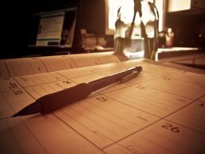 Planner with pen 6728580615_98c4f1c23b_z