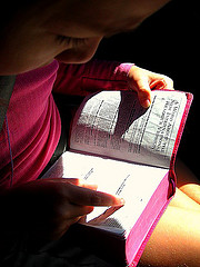 Child with bible 3018342202_882e76abdb_m